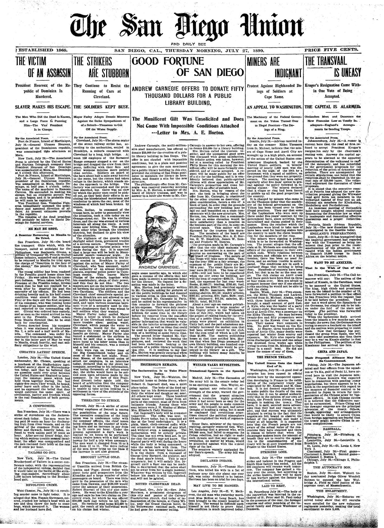 July 27, 1899