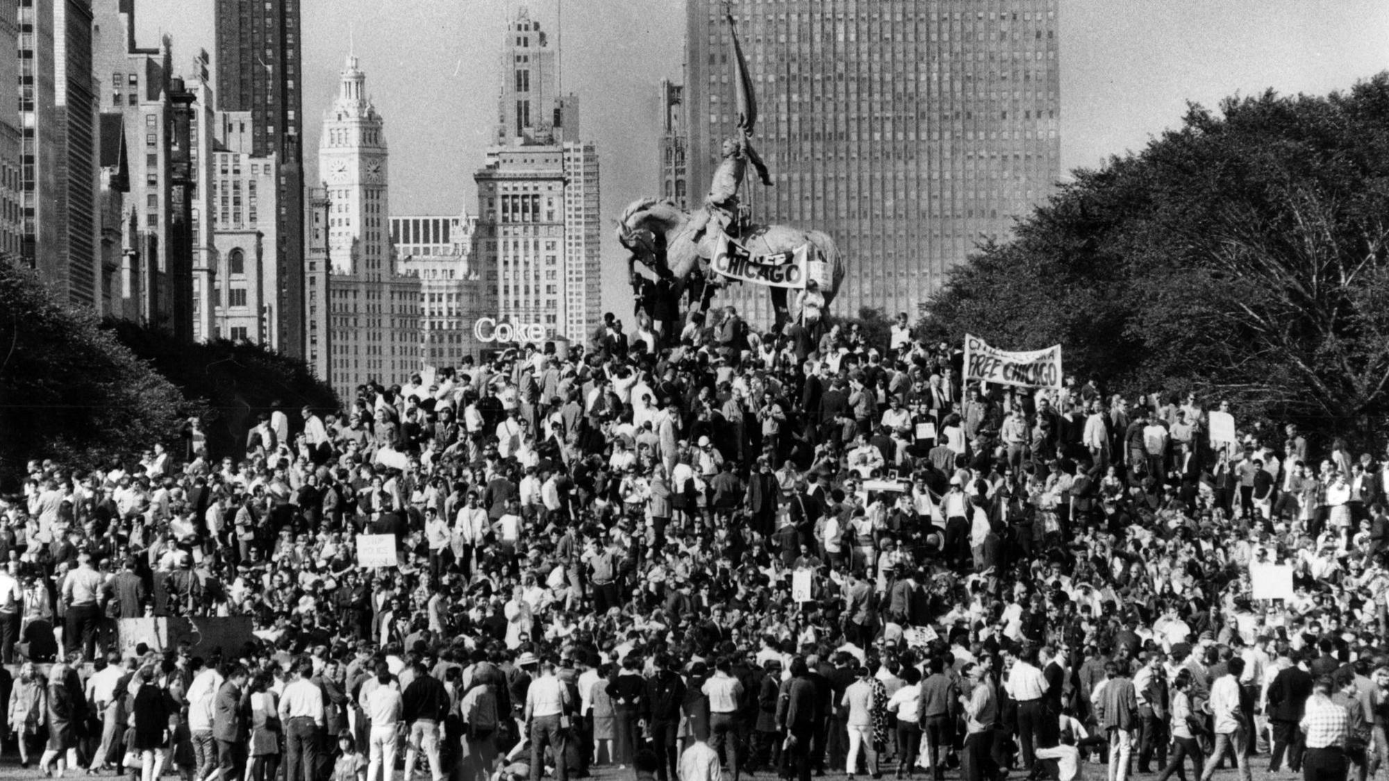 And Chicago Police Clashed In A Dramatic Sequence Of Protests That Took Place The City During August 1968 Democratic National Convention