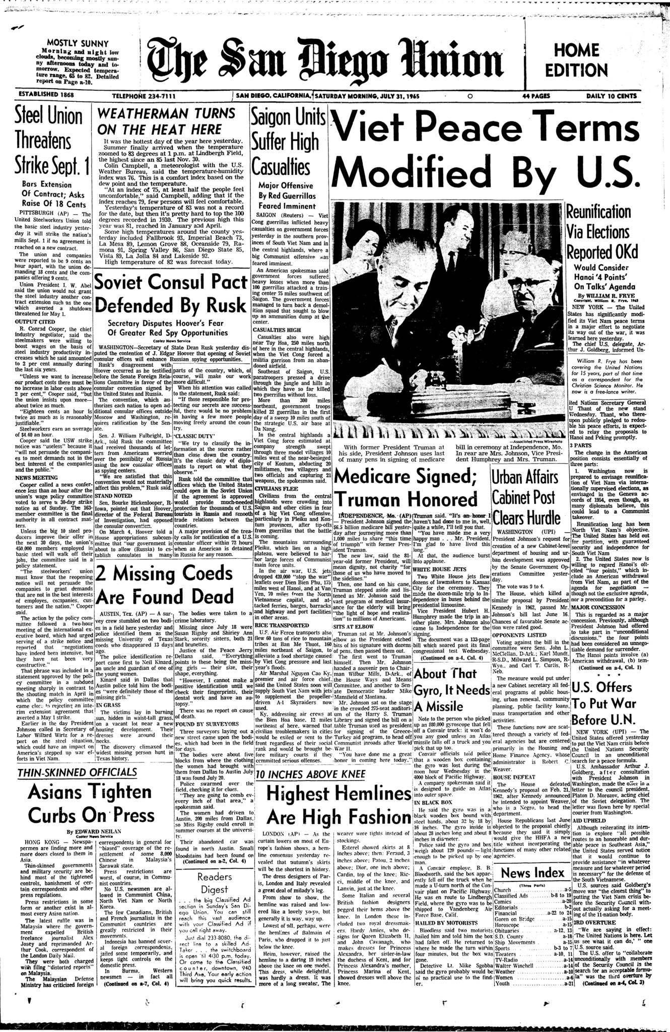July 31, 1965