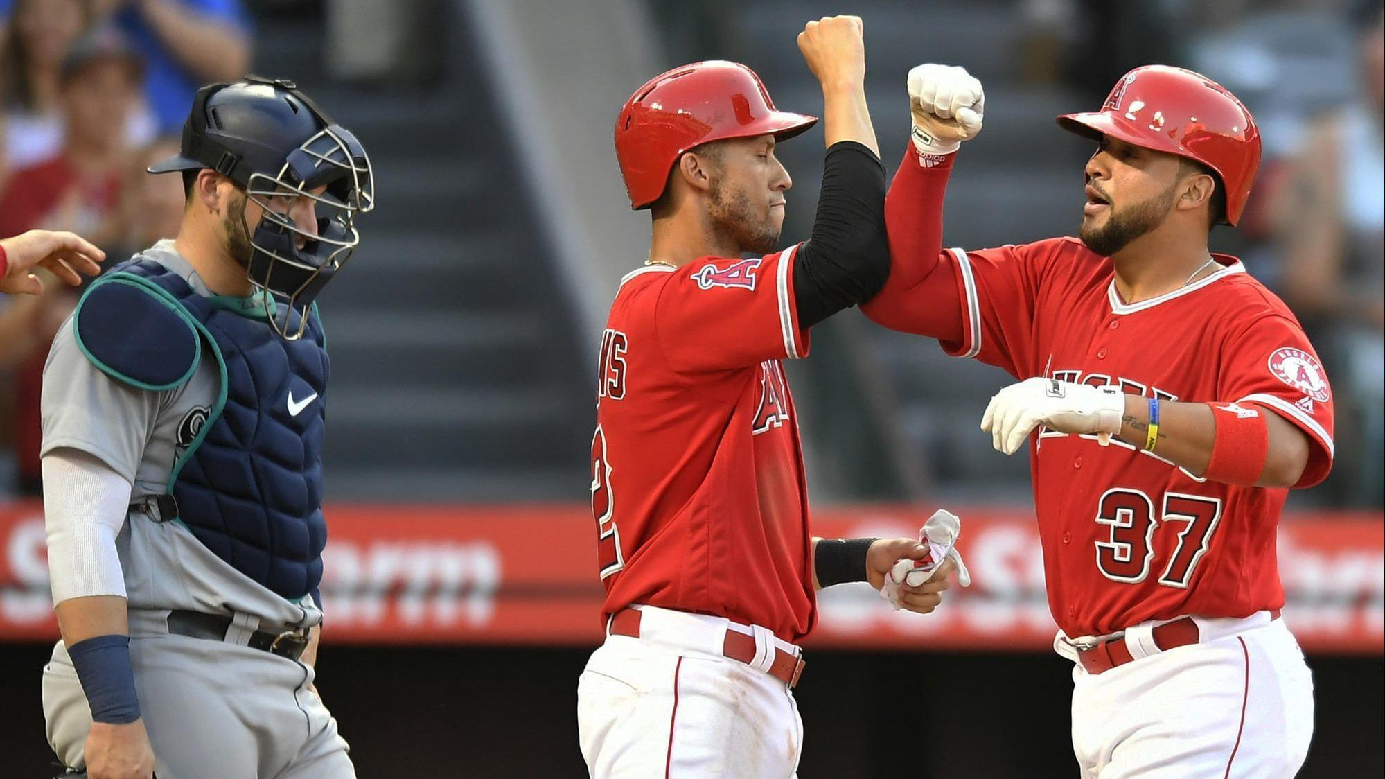 Angels teammates in awe of Francisco Arcia