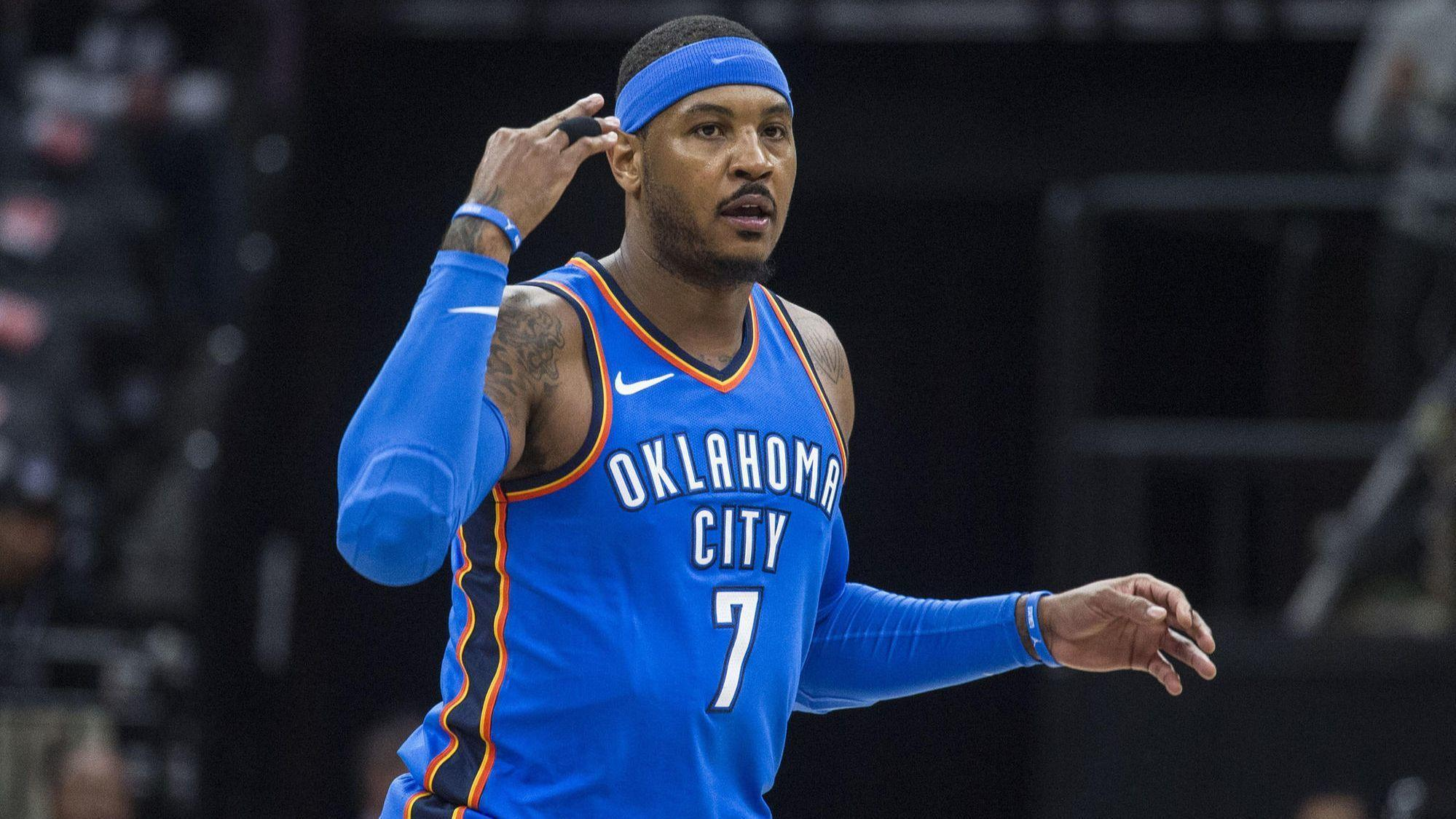 Hawks waive Carmelo Anthony, making him a free agent
