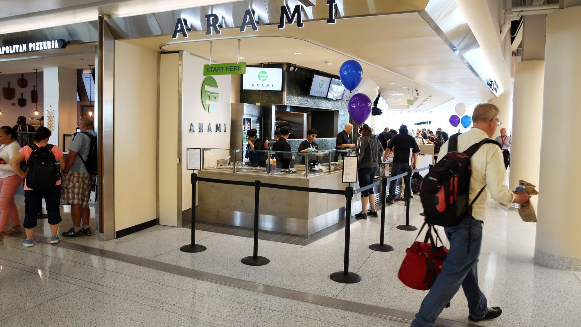 New Food Court Opens At Midway Airport A Year After Massive
