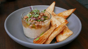 Little Beast's black-eyed pea hummus