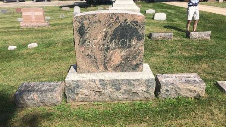 In search of family in a small-town graveyard