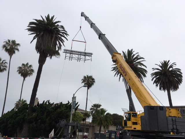 A VSB-designed pergola is saved for posterity by the La Jolla Historical Society, a video of which shocked its designer.