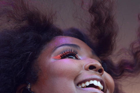 Lizzo performs at Lollapaloozaon Aug. 3, 2018, in Chicago.