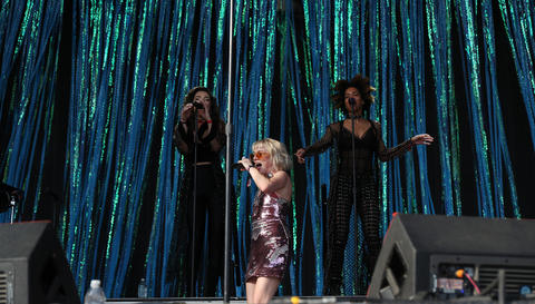 Carly Rae Jepsen performs at Lollapalooza Saturday, Aug. 4, 2018, in Chicago.