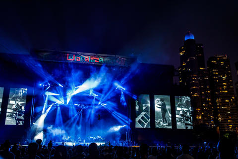 Jack White performs Sunday, Aug. 5, 2018 at Lollapalooza in Grant Park.