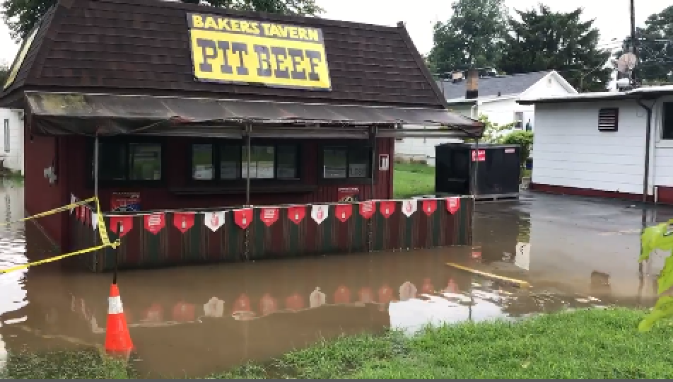 Flash floods hit Middle River, other parts of eastern Baltimore County | Baltimore Sun