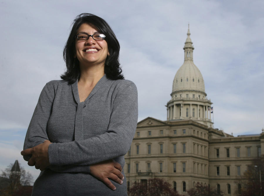 Primary win sets up Rashida Tlaib to be the first Muslim woman elected to Congress
