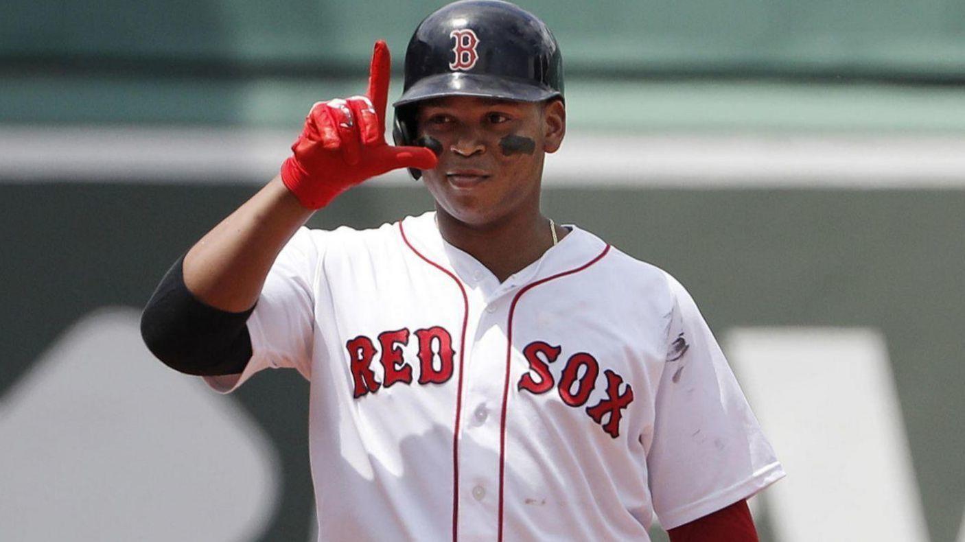 Rafael Devers Is The Boyish Face Of Baseball S Trend Of
