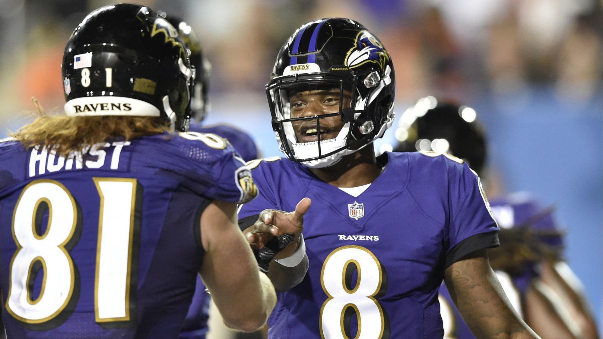 Lamar Jackson is social media's favorite Ravens player, study shows - Baltimore Sun