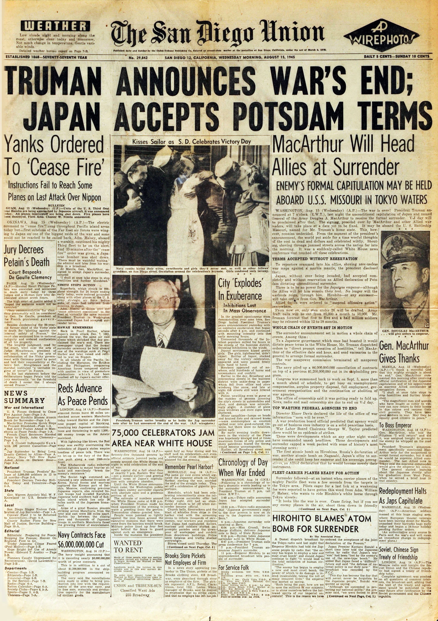 August 15, 1945