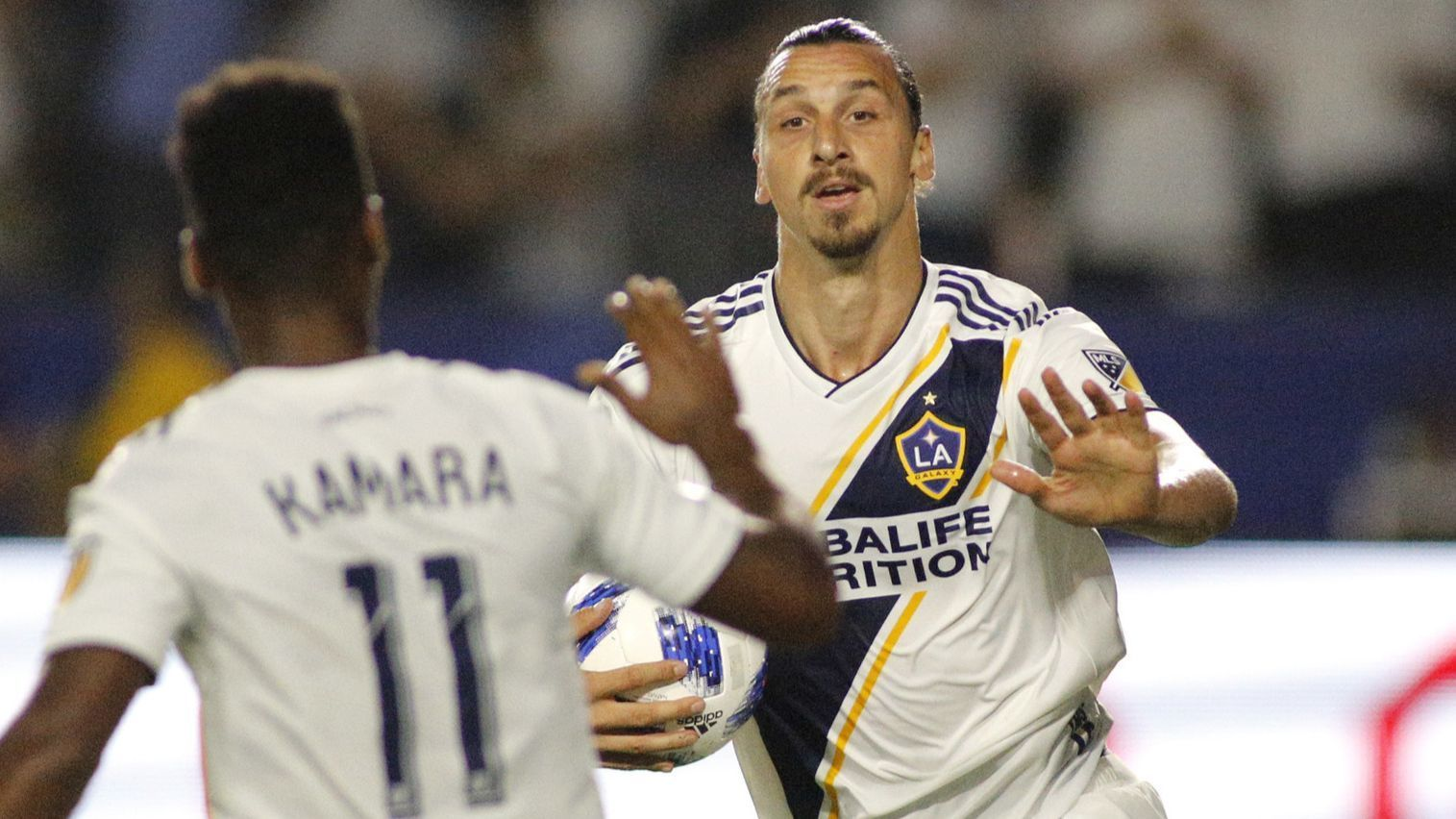 Zlatan Ibrahimovic chasing 500-goal milestone for Galaxy against Minnesota
