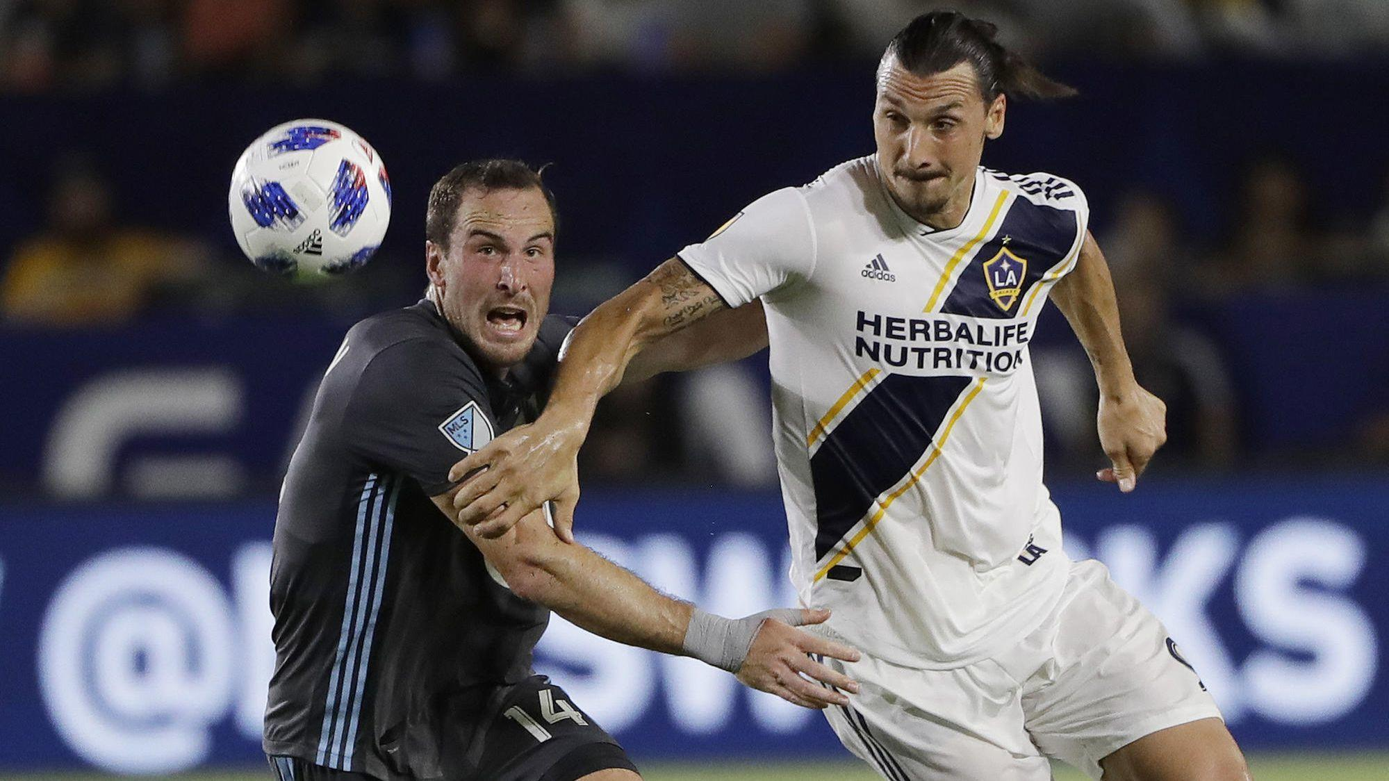 Galaxy can't hang on to lead, settle for a tie against Minnesota