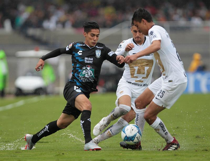Pumas ties goalless with Pachuca and tentatively takes the lead