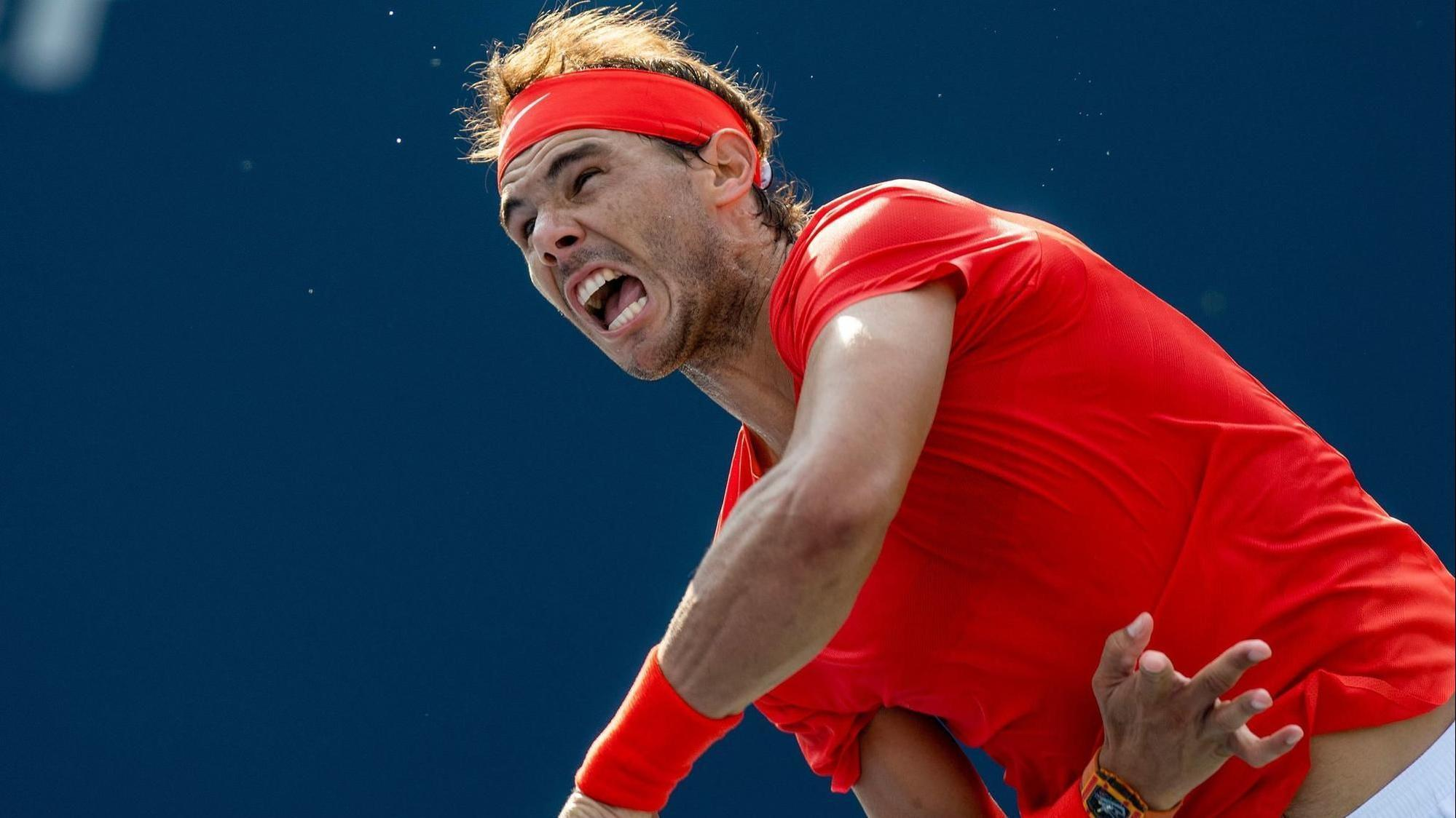 Rogers Cup: Nadal ends Tsitsipas' Toronto run on Greek's 20th birthday