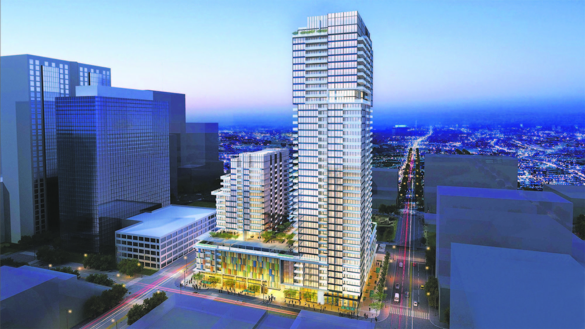 Newest san diego residential towers rival city 39 s tallest buildings the san diego union tribune - Apartment buildings san diego ...