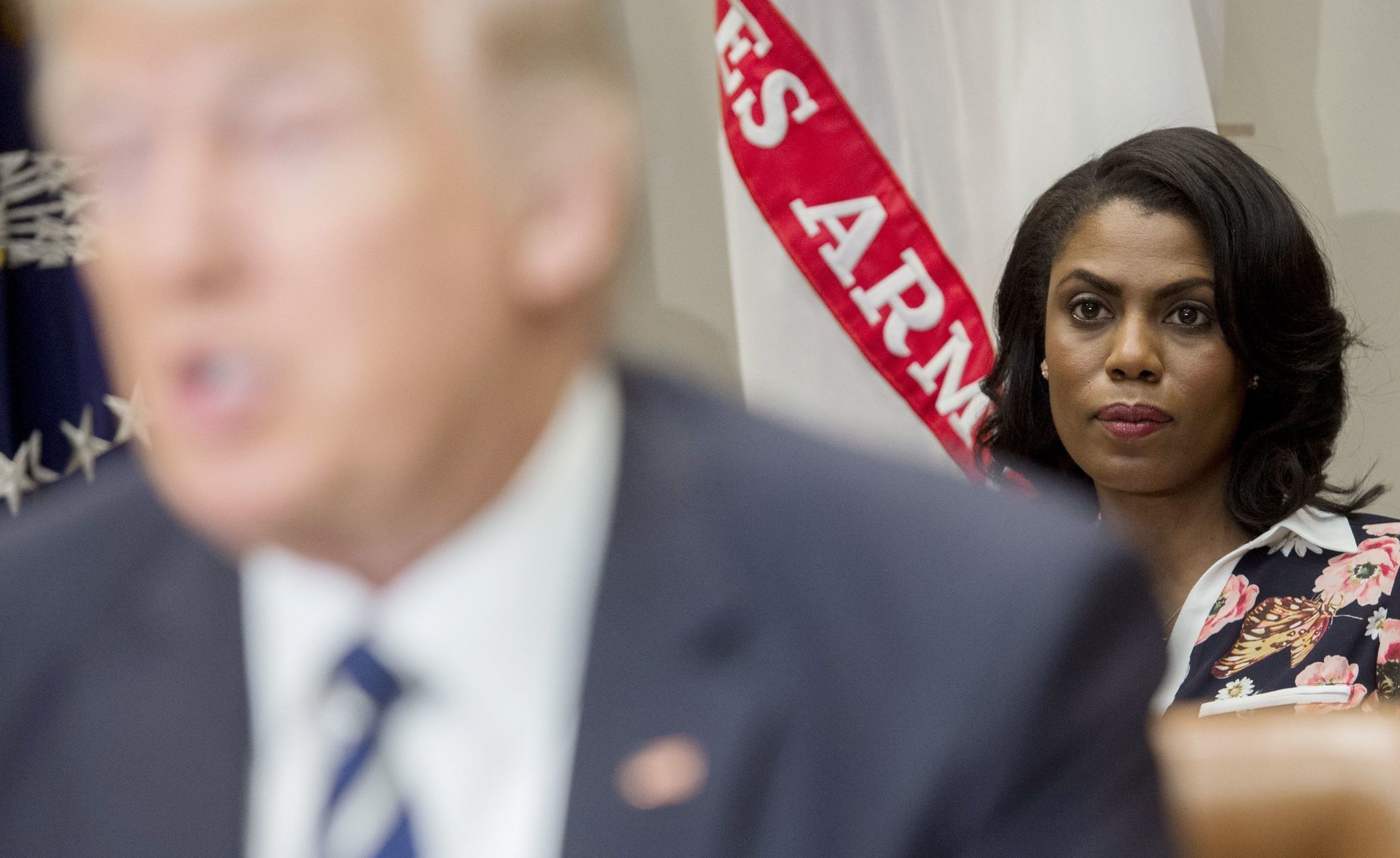 As Omarosa continues to promote her tell-all book, Trump lashes out, calling her 'that dog!'