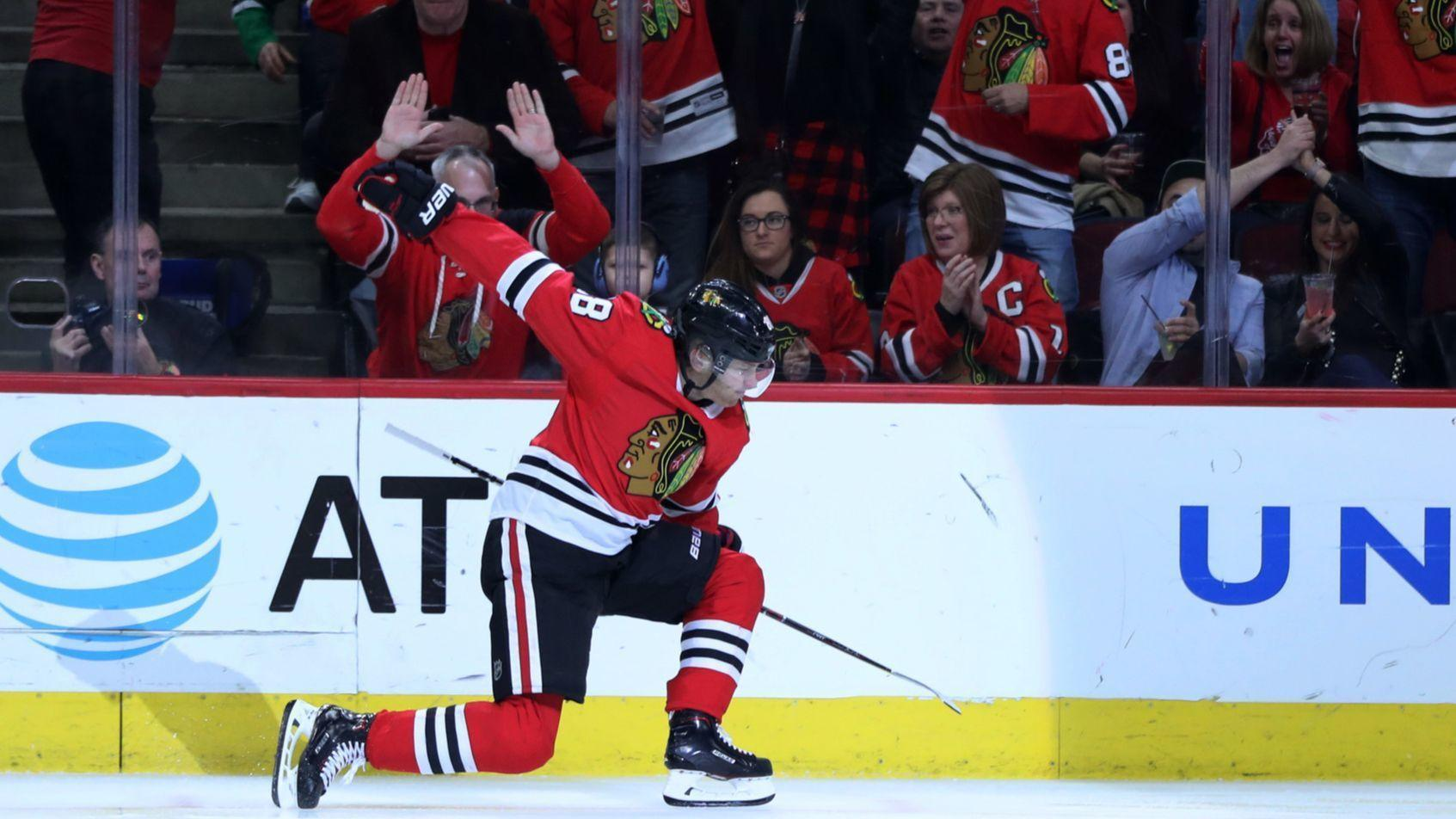 blackhawks scheduled for 19 national tv games, most in nhl - chicago
