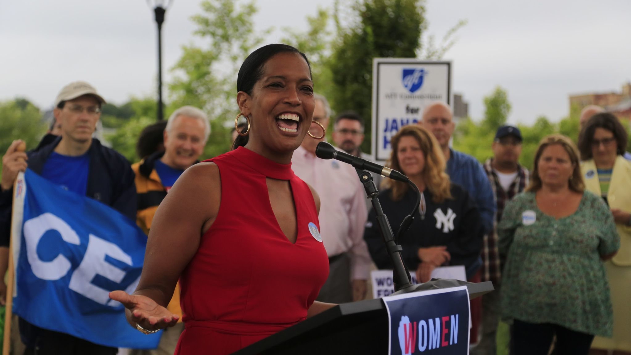Jahana Hayes Has Commanding Lead Over Mary Glassman In 5th Congressional District Race | Hartford Courant