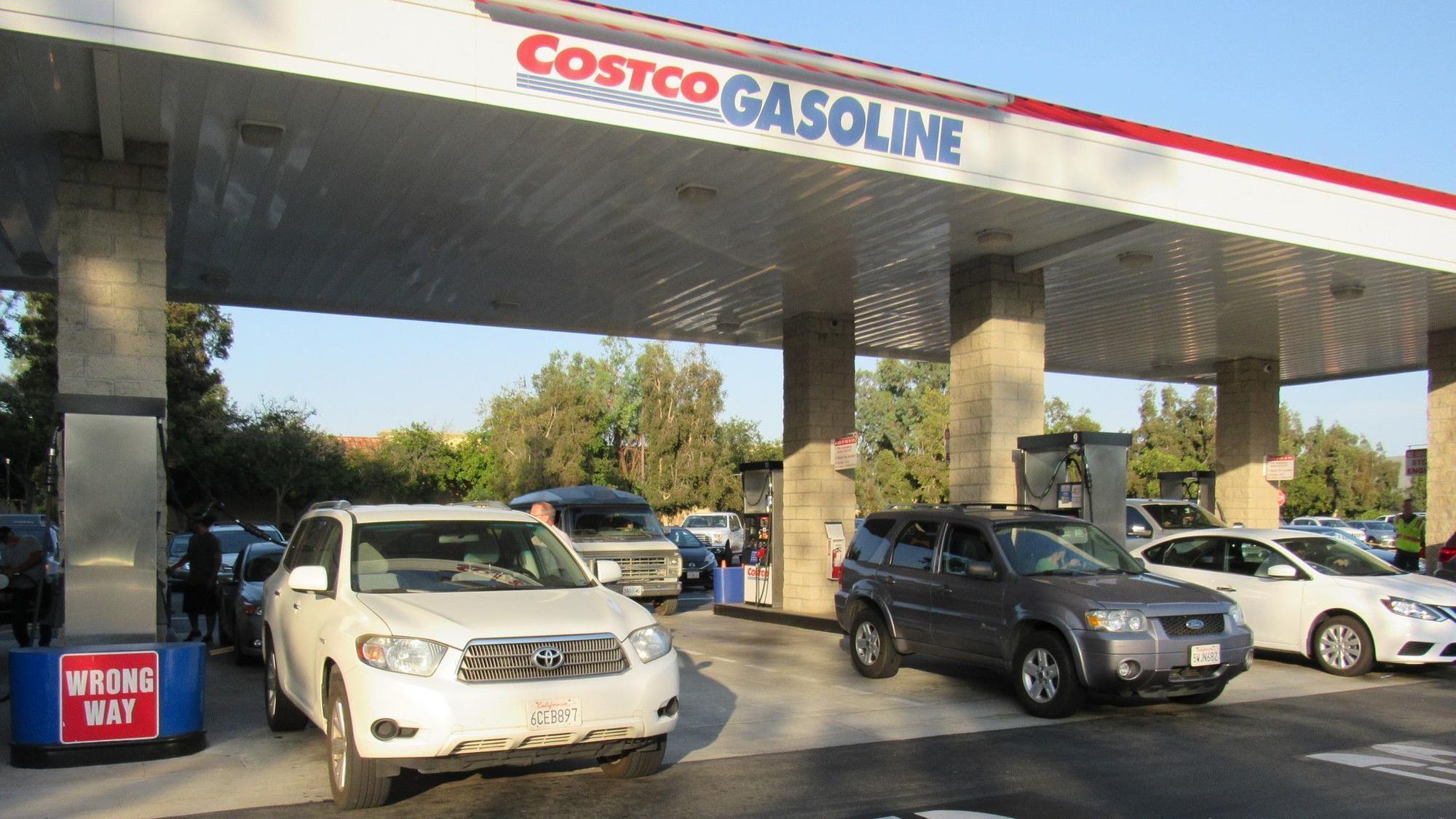 santee costco moving fuel station  adding more pumps