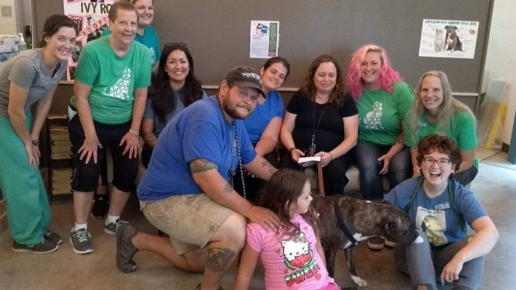 Special needs dog at Harford Humane Society finds home with Dundalk family | Baltimore Sun