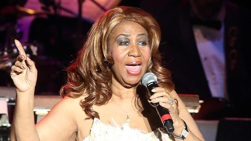 Aretha Franklin at The Lyric