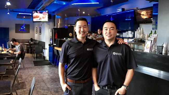 Bento Cafe co-founders