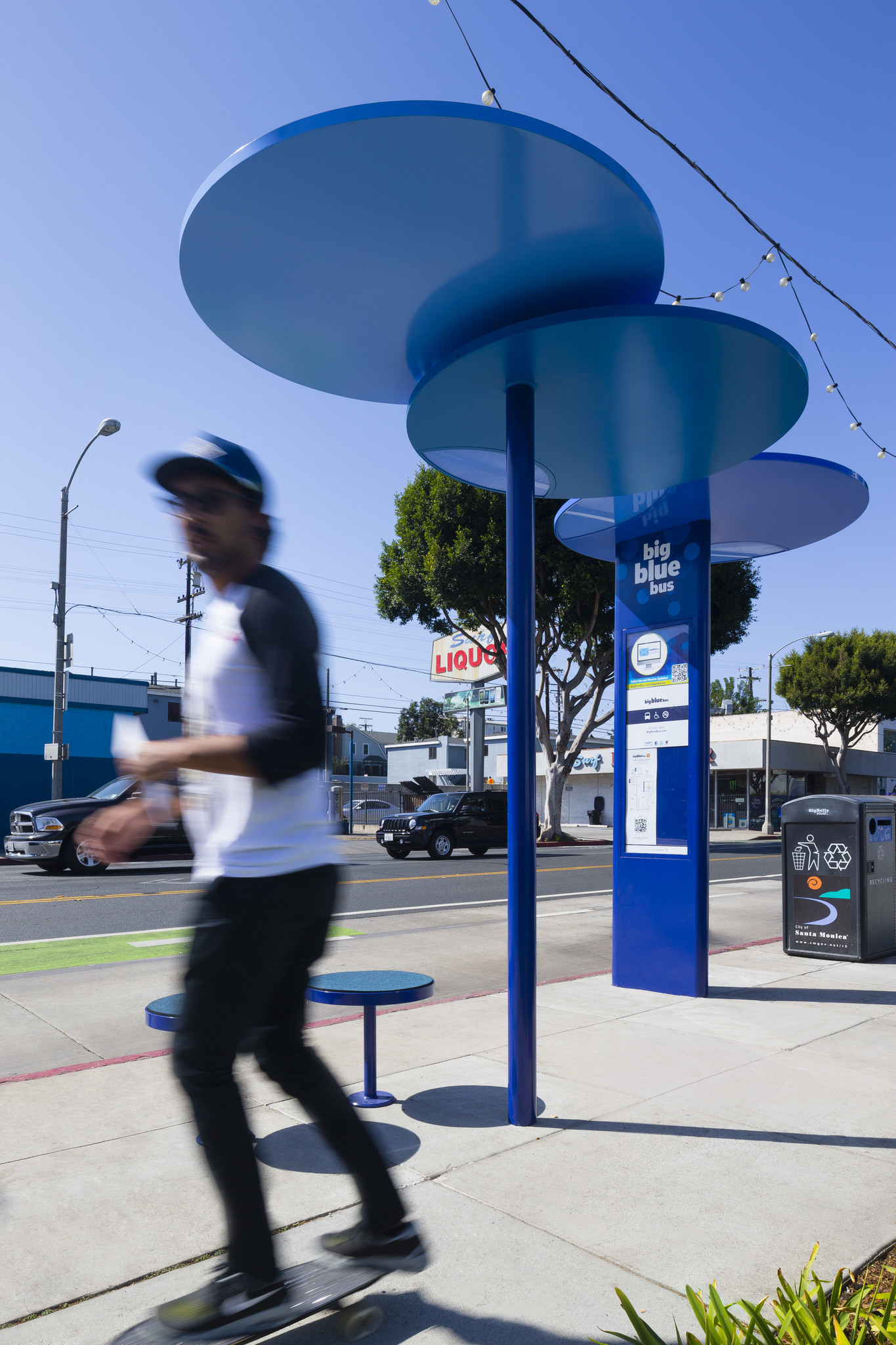 Big Blue Bus Shelters LOHA