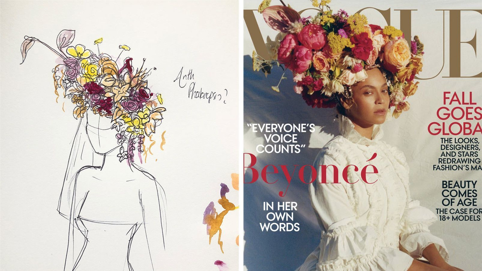 Phil John Perry on the floral industry and designing Beyoncé's Vogue headdress