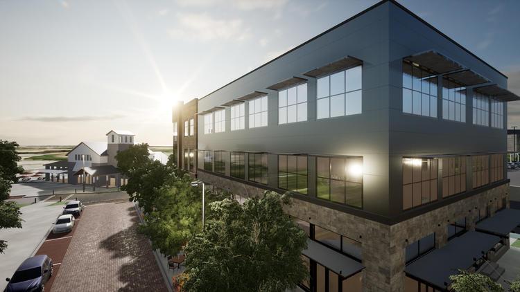 Hamlin office building rendering 2