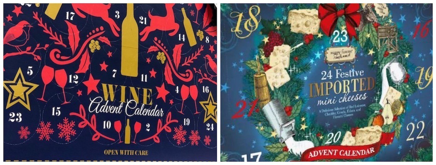 aldi wine and cheese advent calendars now in stores sun sentinel - Is Wegmans Open On Christmas