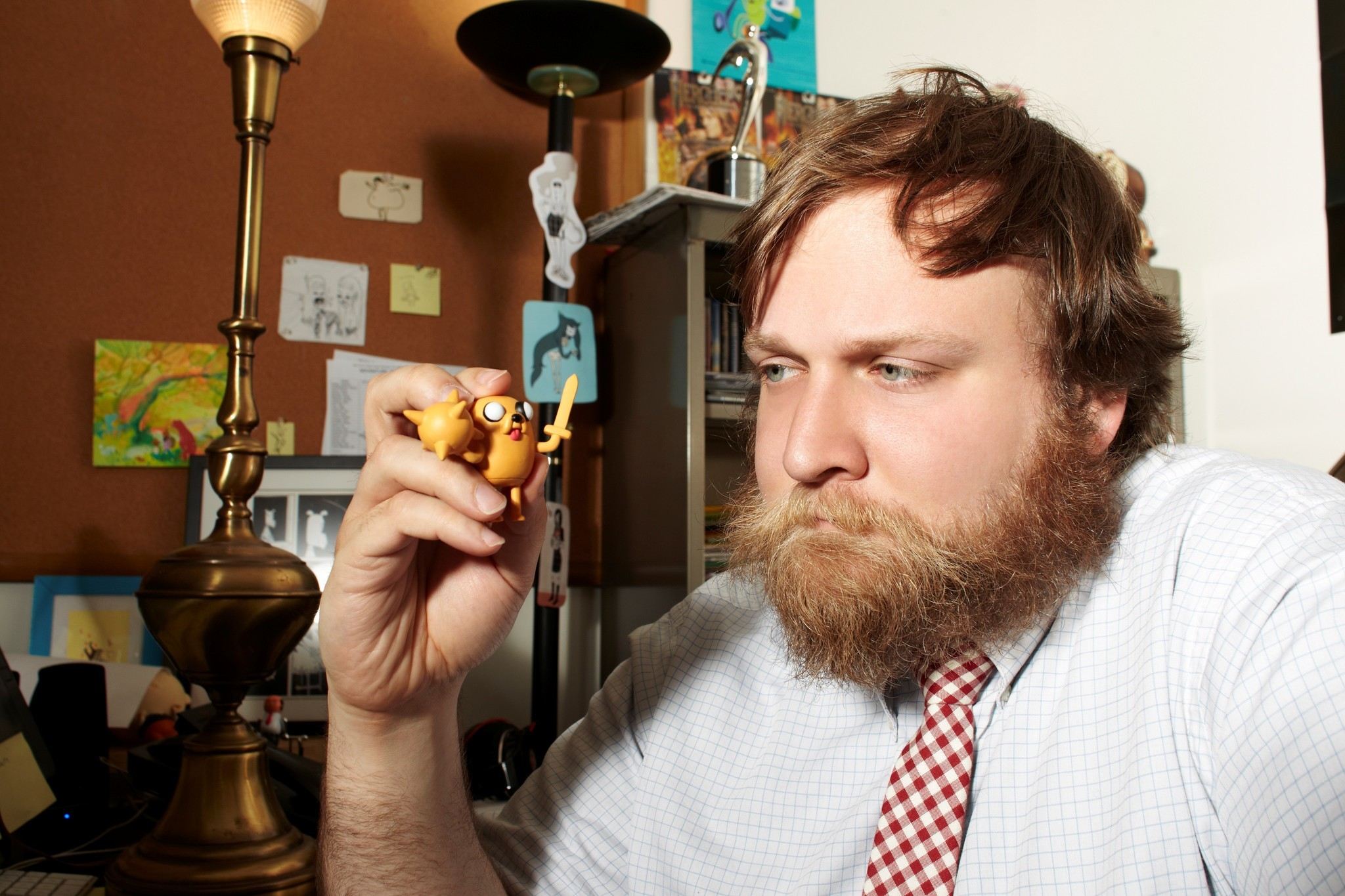 "4/4/2012: Burbank, CA, Cartoon Network ""Adventure Time"" creator Pendleton Ward. Photo:Mark Hill\CN"