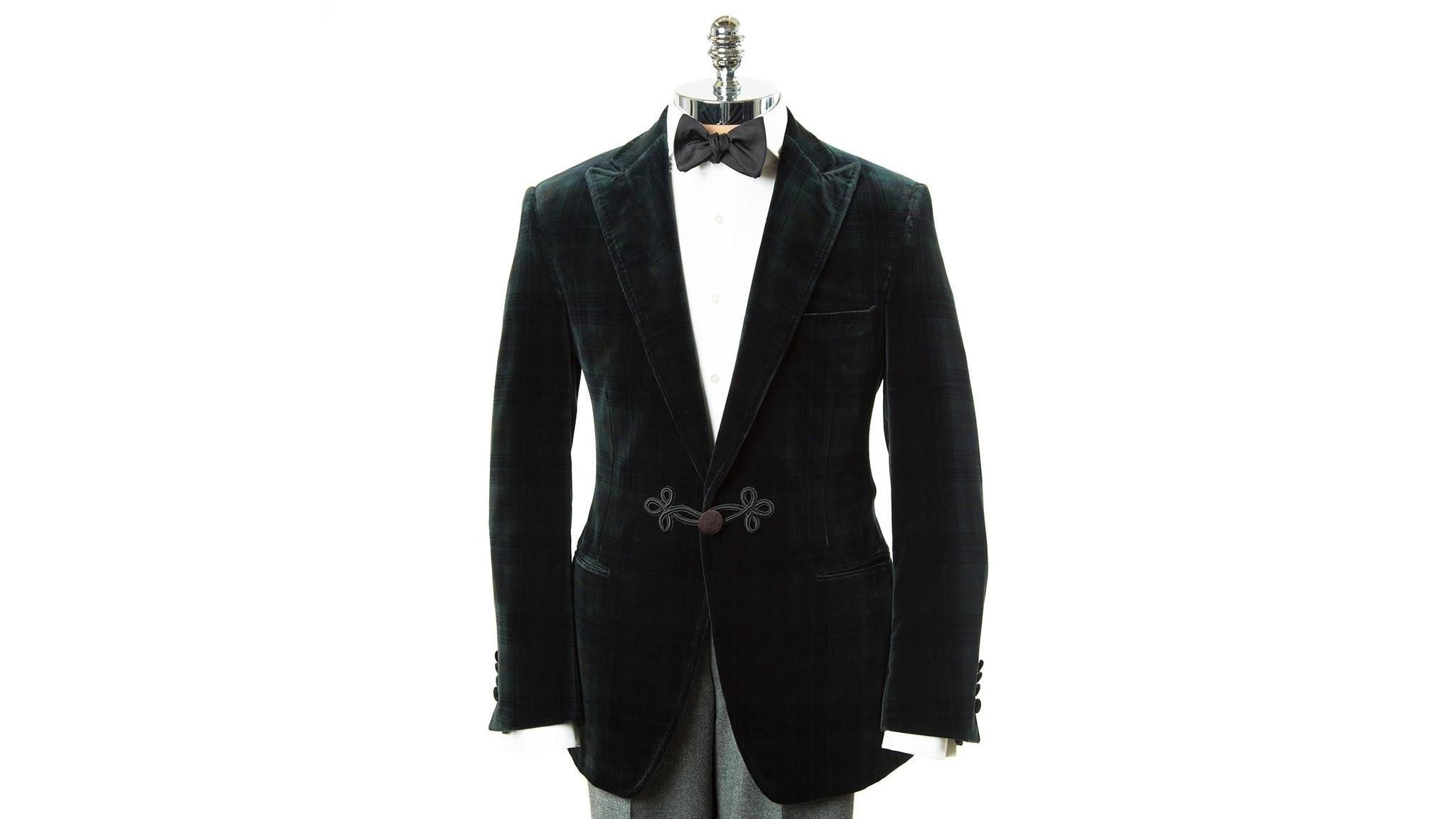 Paul Stuart suit.