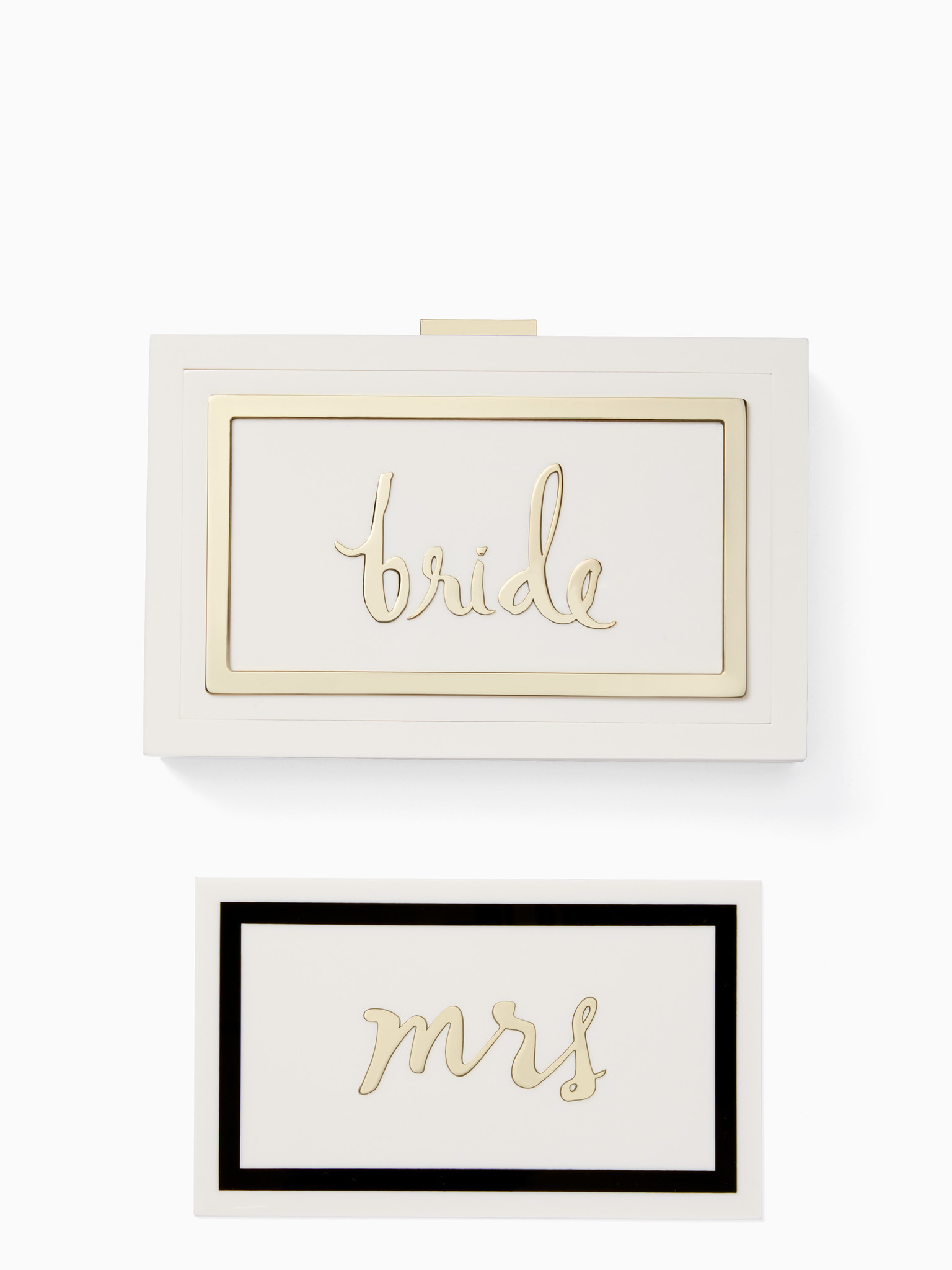 Kate Spade New York Add a quirky touch with the Make It Mine Rylie Bridal Set from Kate Spade New Yo