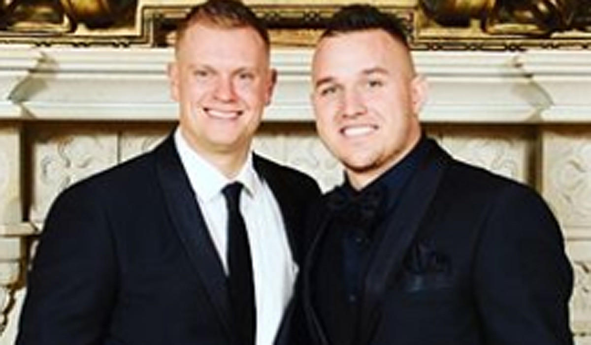 Mike Trout remembers brother-in-law Aaron Cox as 'an amazing person inside &out'
