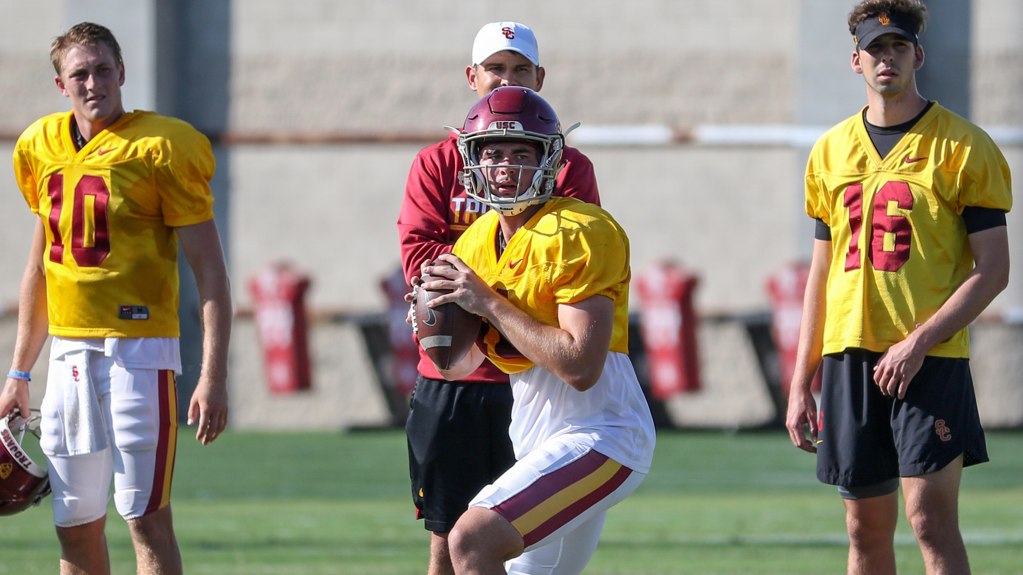 USC's depth chart will be released Sunday — but don't expect to find out who's starting at quarterback