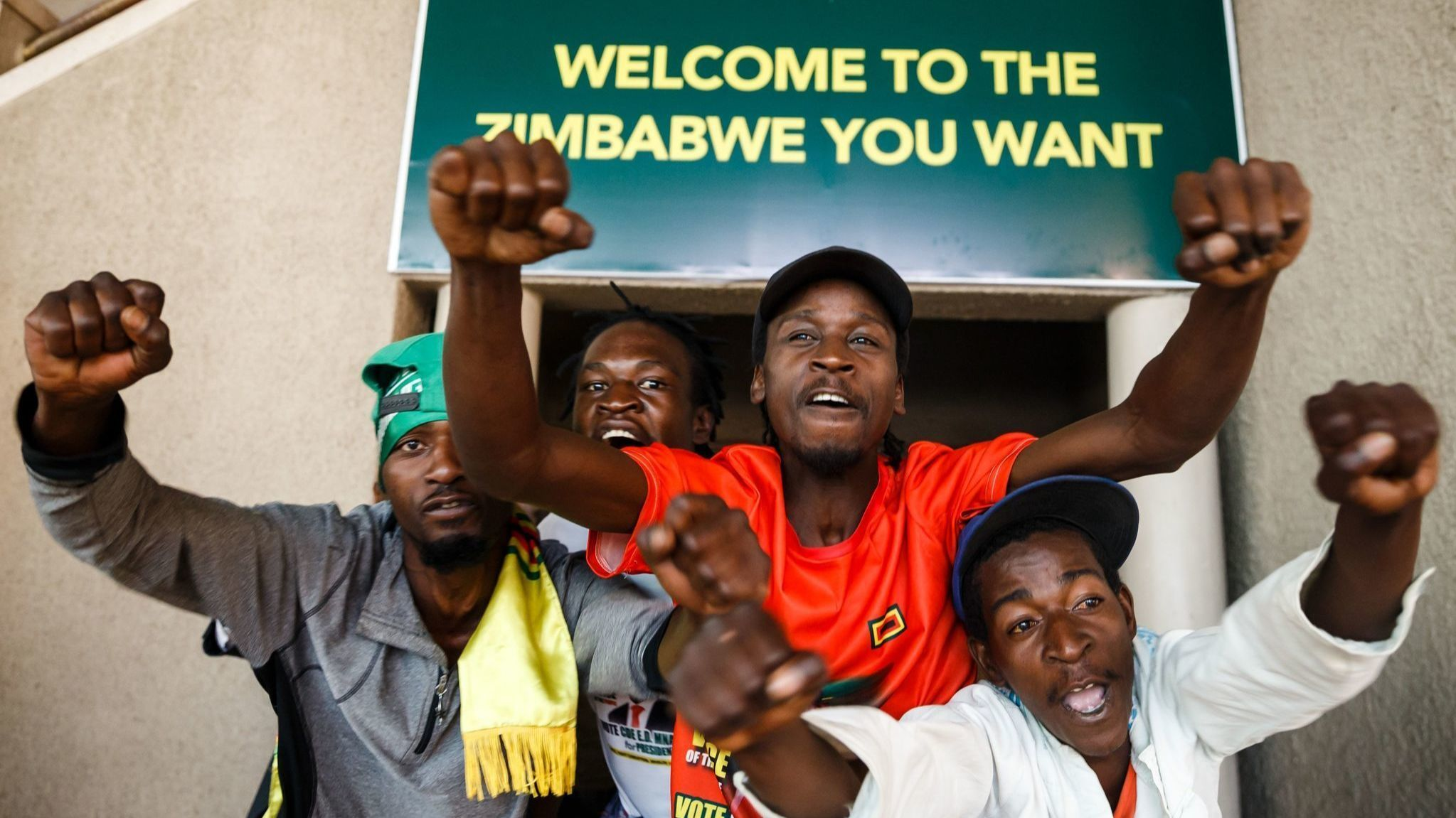 'It is time to move forward together': Zimbabwe court unanimously upholds president's election win