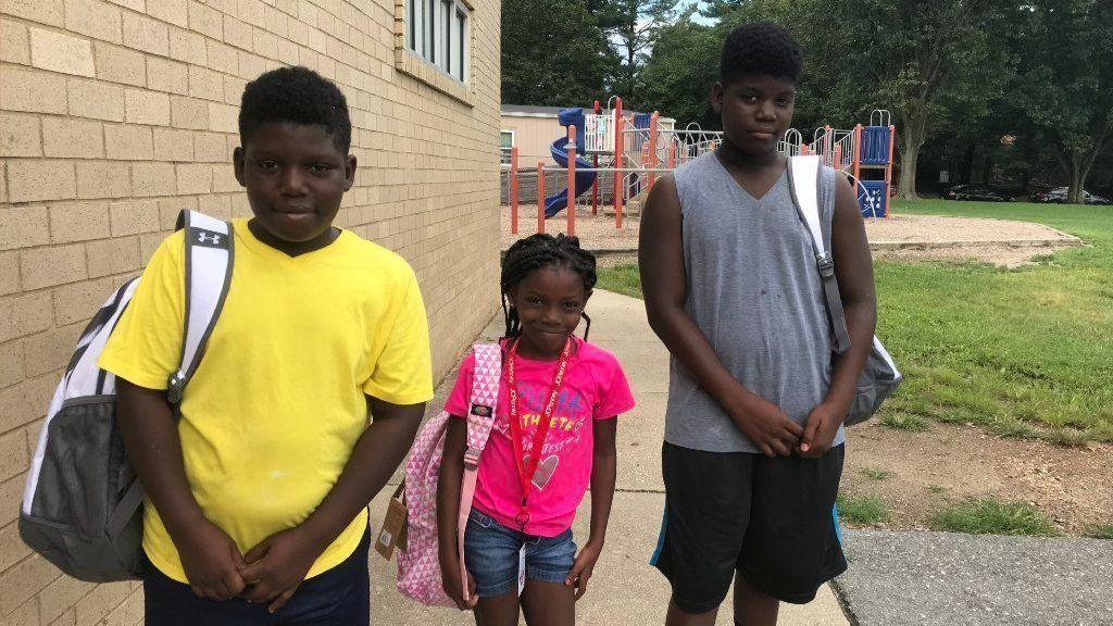 Cradlerock Elementary School Students Get Free Backpacks