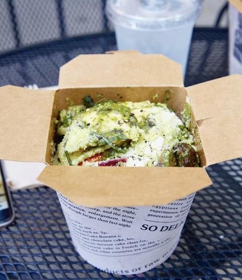 Avè Pasta, 50 E. Chicago Ave. in the Gold Coast.
