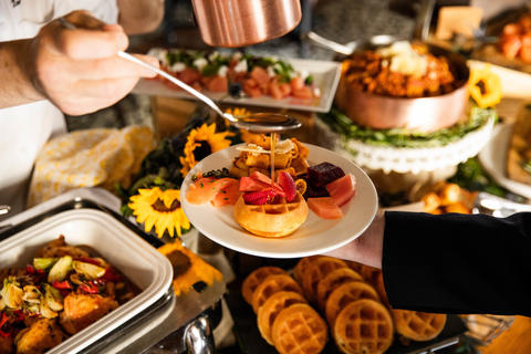All-you-can-eat Sunday Brunch buffet atOsteria Via Stato in River North.