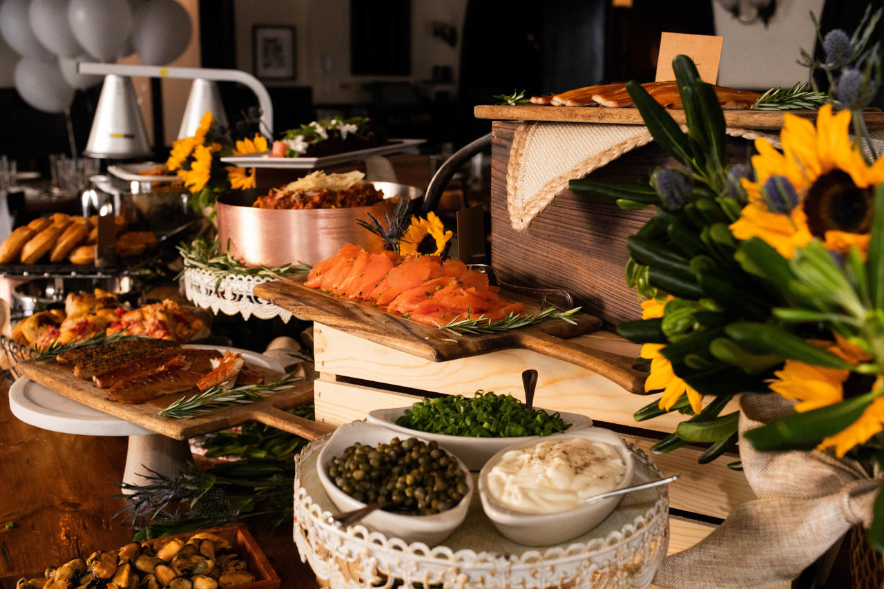 All-you-can-eat Sunday Brunch buffet at Osteria Via Stato in River North.