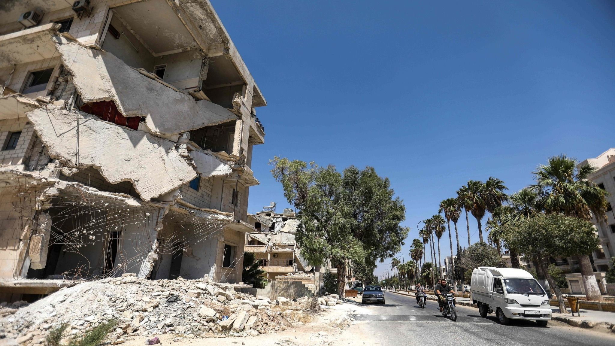 The fate of millions in doubt as Syria prepares for final showdown with rebels