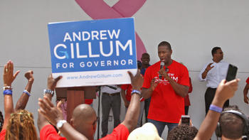 Andrew Gillum makes history as Democratic nominee for governor