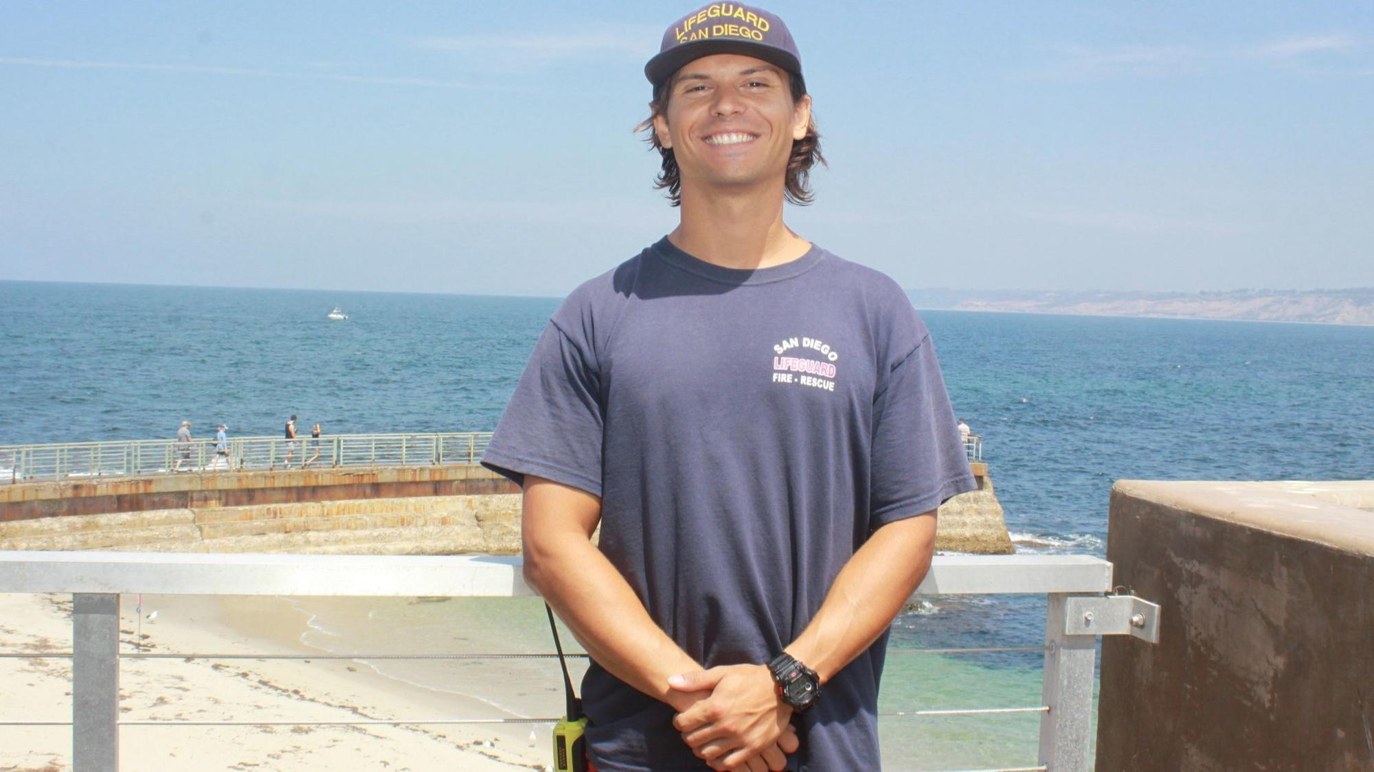 Rescue Of The Year Award Lifeguard James Earnest Saves
