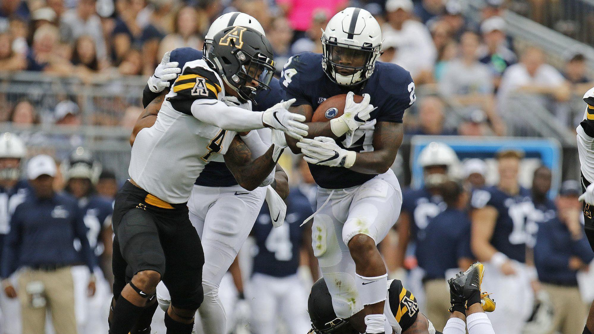 No. 10 Penn State survives 45-38 in OT vs Appalachian State