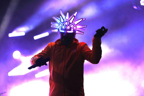 Jay Kay performs with Jamiroquai during the North Coast Music Festivalon Sept. 2, 2018, in Chicago's Union Park.