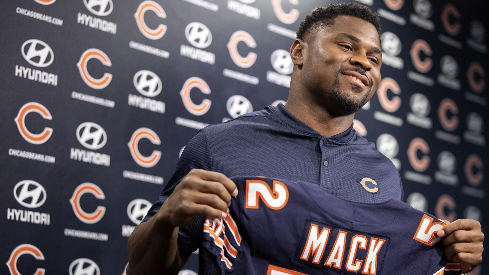 8a9086639e9 Khalil Mack on pressure of  141 million Bears contract  'I want to be the  best at what I do'