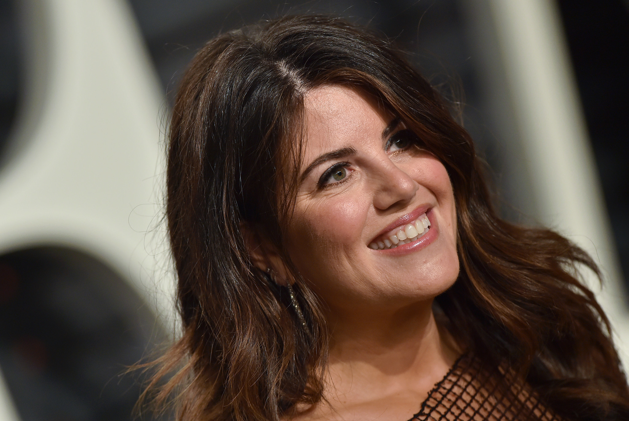 monica lewinsky storms offstage after off limits clinton question